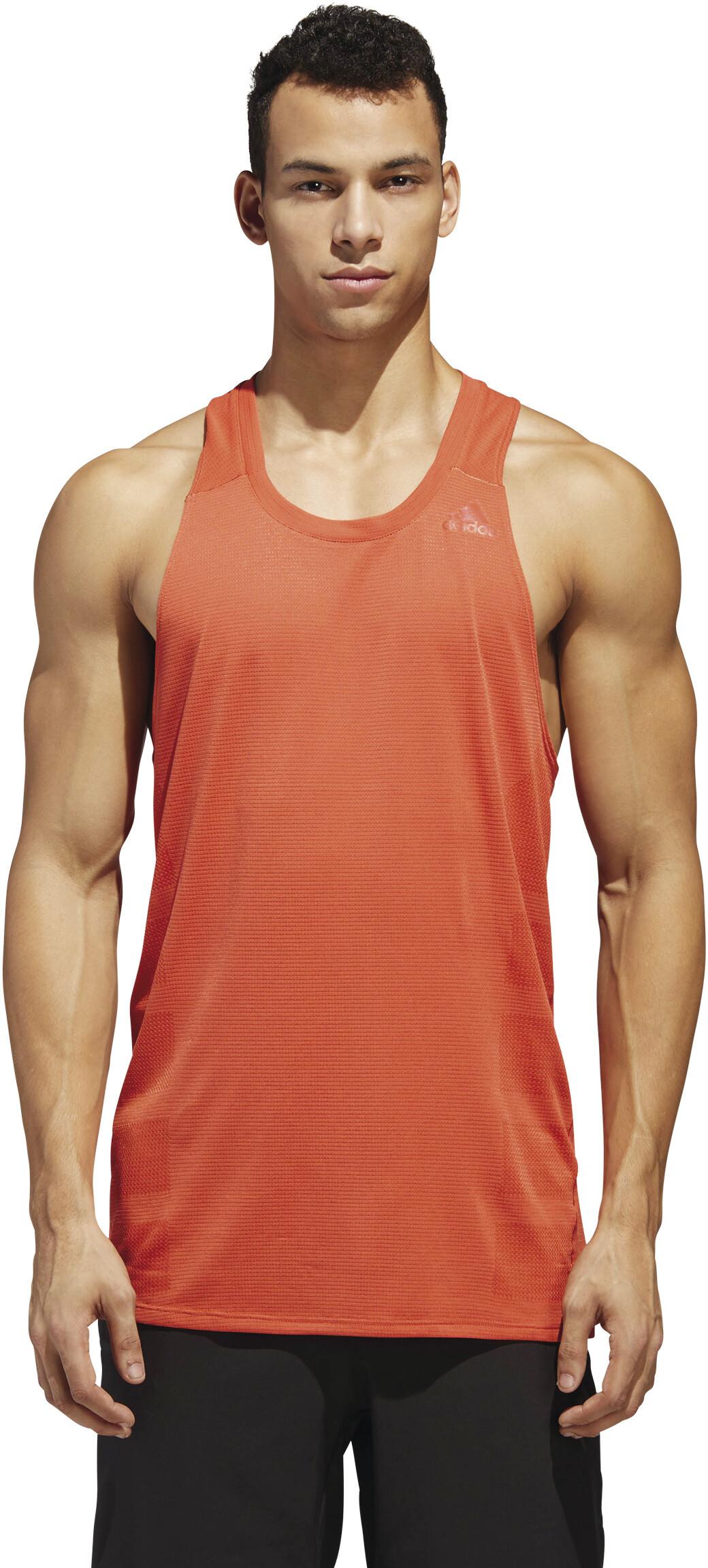 best website a1eb7 4427f adidas Supernova - Camiseta sin mangas running Hombre - naranja